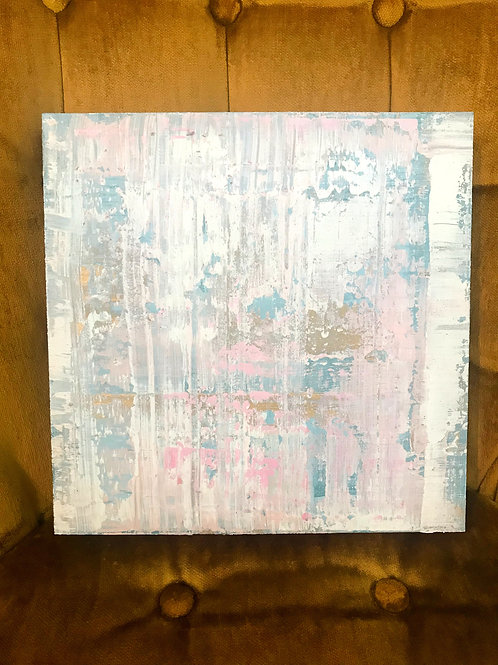 "10""x10"" Abstract Original by Morgan Cole Art"
