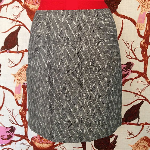 Above The Knee Skirt by Maude Couture