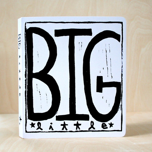 Big Little Board Book by Perla Anne Press