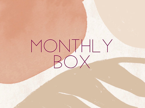 Monthly Box Subscription