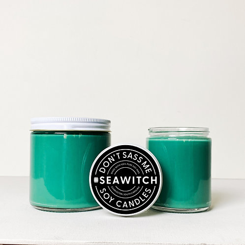 Sea Witch Soy Candle by Don't Sass Me Soy
