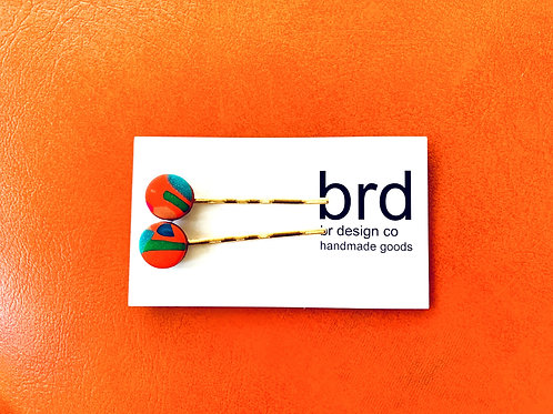 Clay Bobby Pin by BR Design Co.