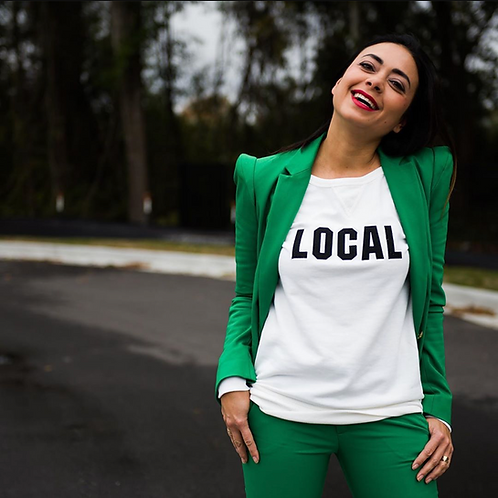 Women's Local Sweatshirt by I Love CHS