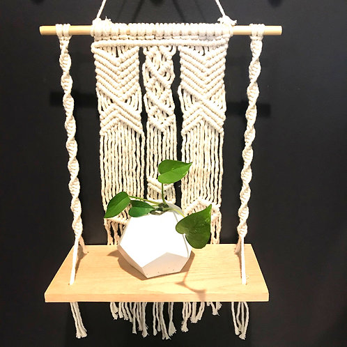 Macrame Shelf by Rosie The Wanderer