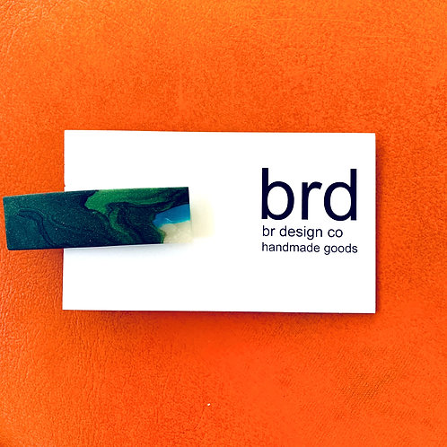 Clay Hair Clip by BR Design Co.