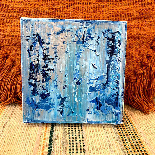 "6""x6"" Abstract Original by Morgan Cole Art"