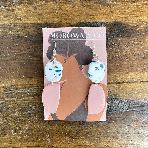 Clay Earrings by Morowa & Co.