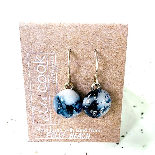 Glass Drop Earrings by eluCook Designs