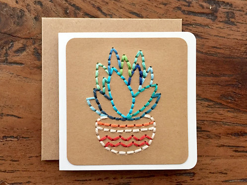 Plant Mini Card by The Cole Card Company