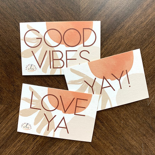Mini Gift Message Cards