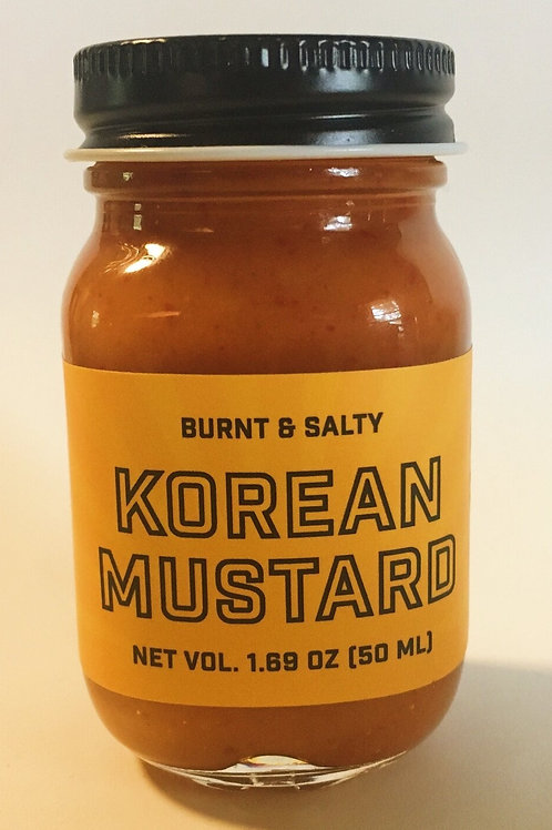Mini Korean Mustard by Burnt & Salty