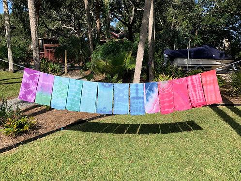 Tie Dye Tea Towels by Dot + Maude