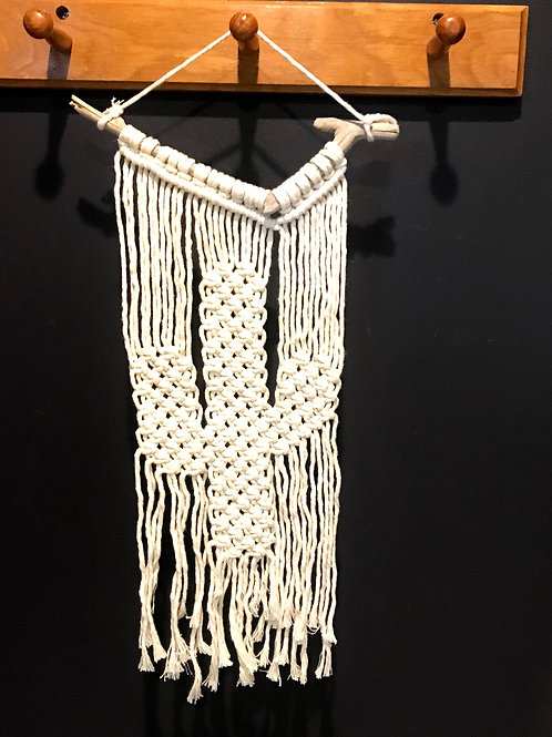Macrame Cactus Wall Hanging by Rosie The Wanderer