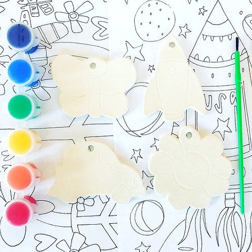 Ornament Painting Kit by Mauswares