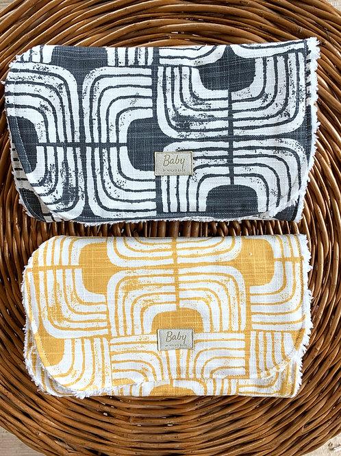 Burp Cloth by Myla's Bags