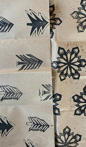Eco-Friendly Gift Wrap by Kēlūsh (Add one per item you'd like wrapped.)