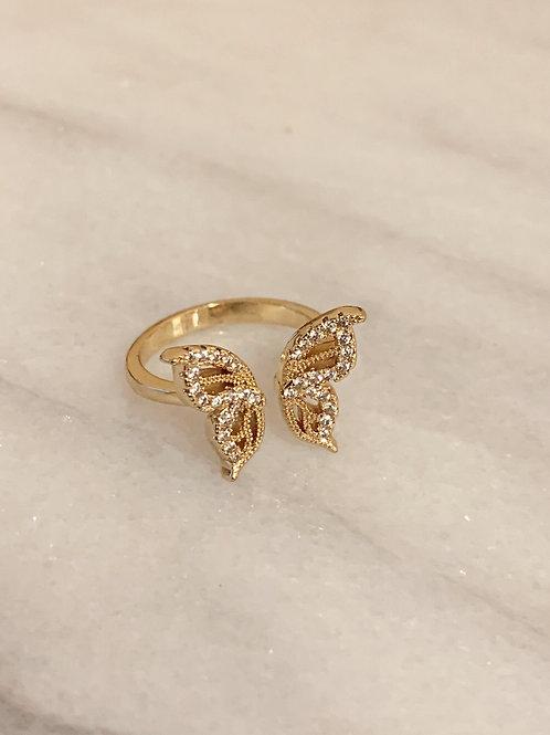 Butterfly Ring by Julia Grace Jewelry