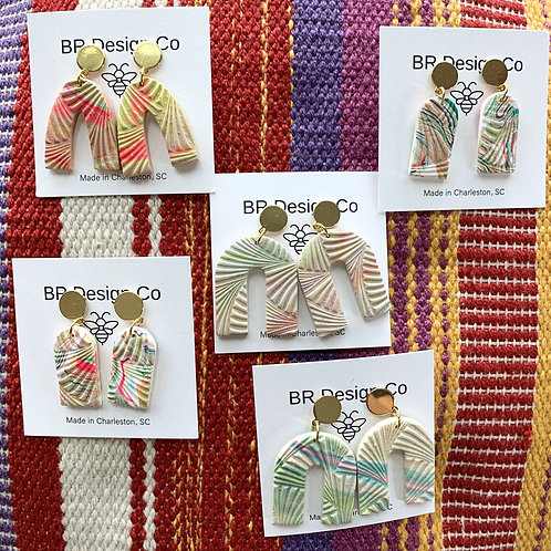 Summer Lovin' Clay Earring Collection by BR Design Co.