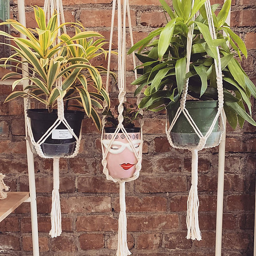 Macrame Plant Hanger by Rosie The Wanderer