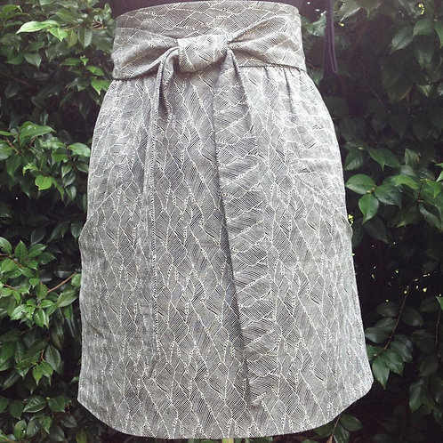 High Waist Skirt by Maude Couture