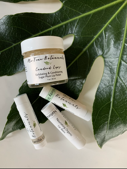 Love Your Lips Organic Lip Care Set by Me Time Botanicals