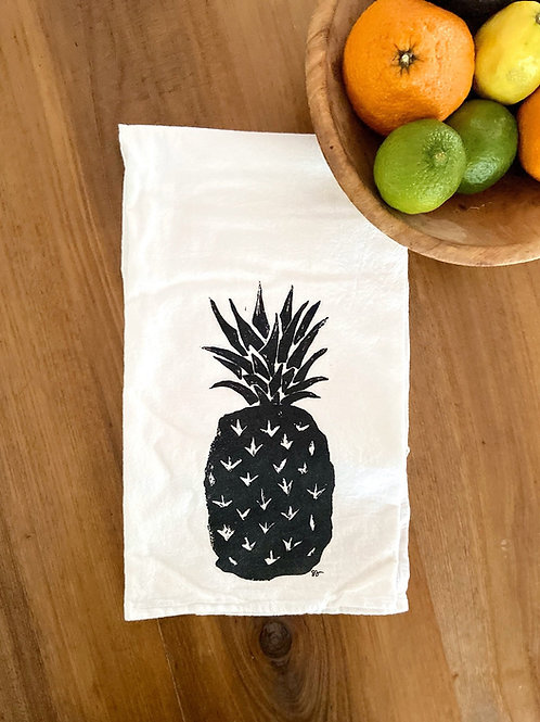 Hand-Printed Tea Towel by Perla Anne Press