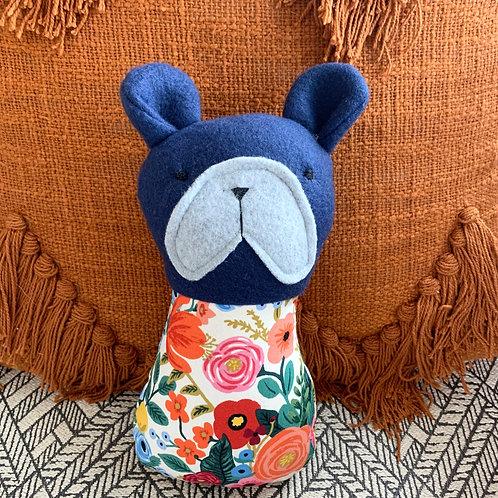 Bentley Bulldog Stuffed Animal by The Stitchery Station by Alma