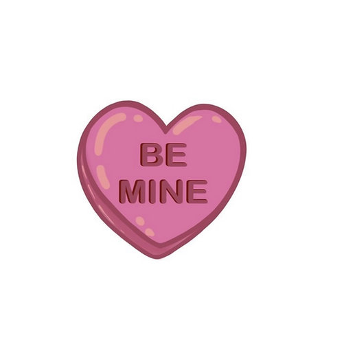 Be Mine Sticker by A Little Squid