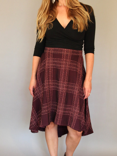High-Low Skirt by Dot + Maude
