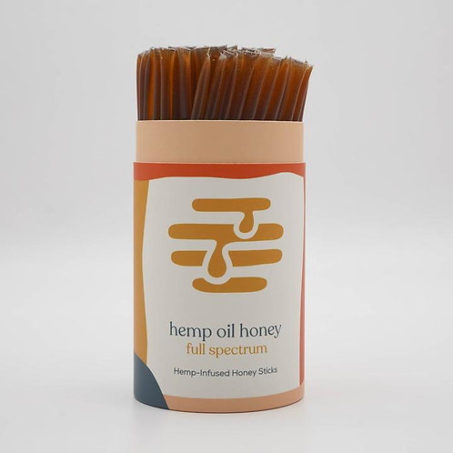 Honey Sticks with Hemp Extract by Apis Mercantile