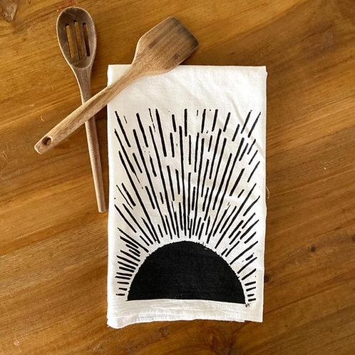 Hand-Printed Tea Towel by Perla Anne Press