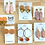 Thumbnail: Just Peachy Clay Earring Collection by BR Design Co.