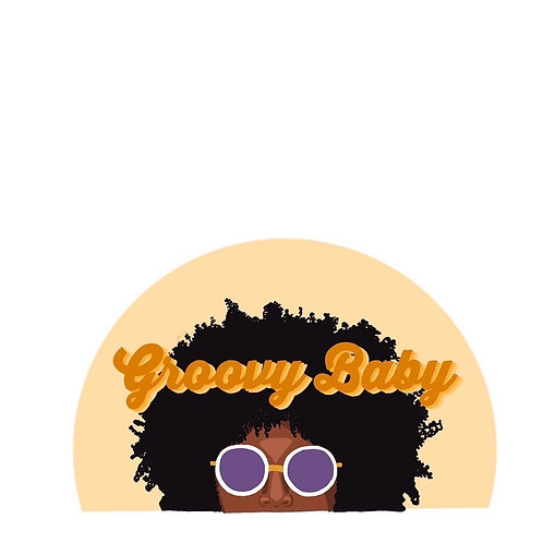 Groovy Baby Sticker by Lady Doodles Co.