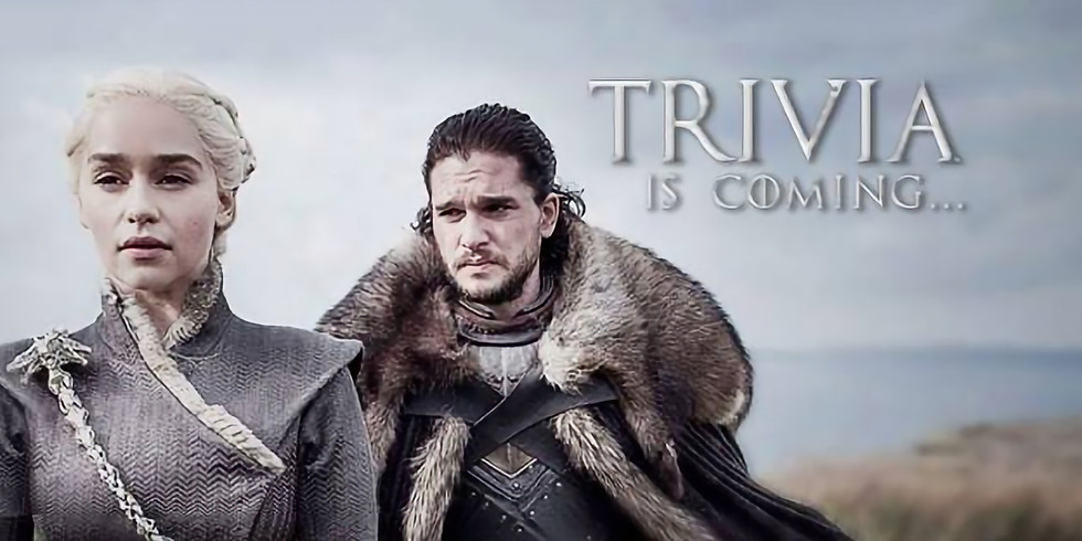 Game of Thrones Trivia and Beer Release