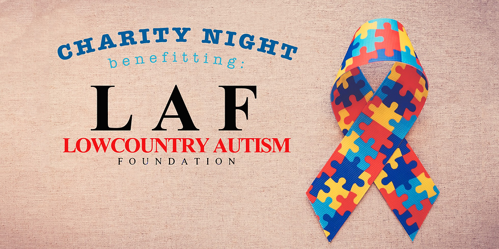 Charity Delivery Night: Lowcountry Autism Foundation