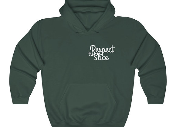 Respect The Slice Unisex Heavy Blend™ Hooded Sweatshirt