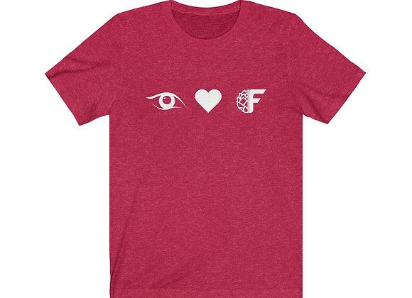 I Heart FBC Unisex Jersey Short Sleeve Tee