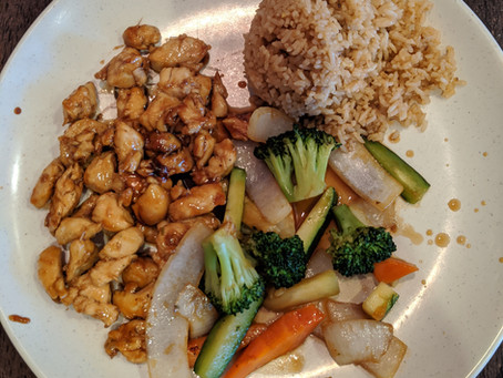 My special hibachi lunch special