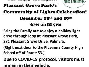 Pleasant Grove at night!