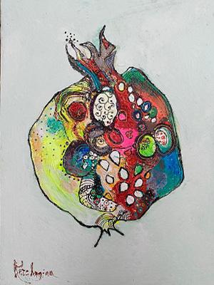 Влюблённое сердце граната