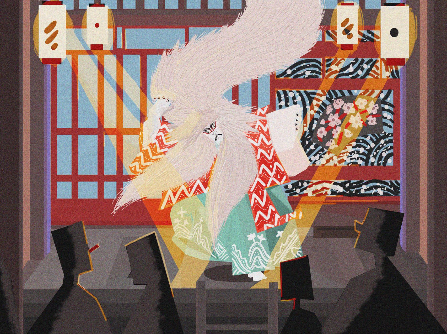 kabuki finish