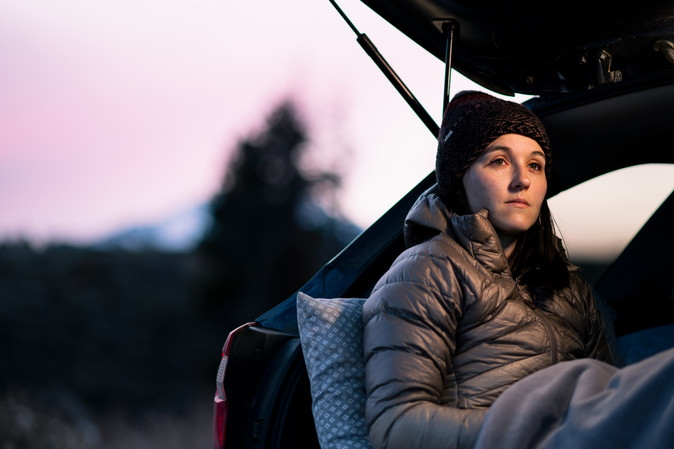 Car Camping in Mammoth, California