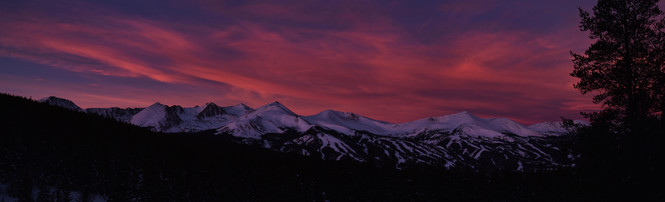 Ten Mile Range Colorado