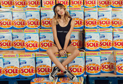 supermarket photoshoot