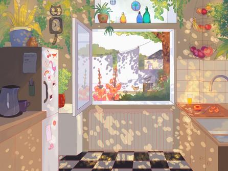 The Sunny Kitchen