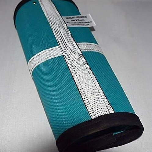 Fly leggings, fetlock protection, Sassari Duo Teal 90%... SET X 4