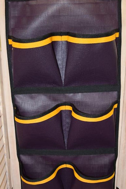 Pocket Wall Door hanging Storage Organizer PURPLE