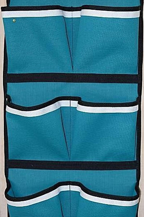 Pocket Wall Door hanging Storage Organizer Teal