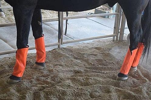 Fly Leggings Sassari Bright Orange, Fetlock Protection, Wound Protection