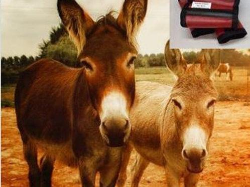 Mini Donkey fly leggings, fly leggings for mini donkey, set x 4